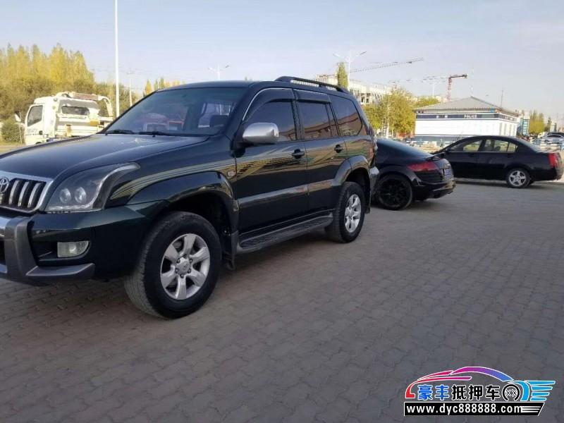 08年丰田普拉多SUV抵押车出售