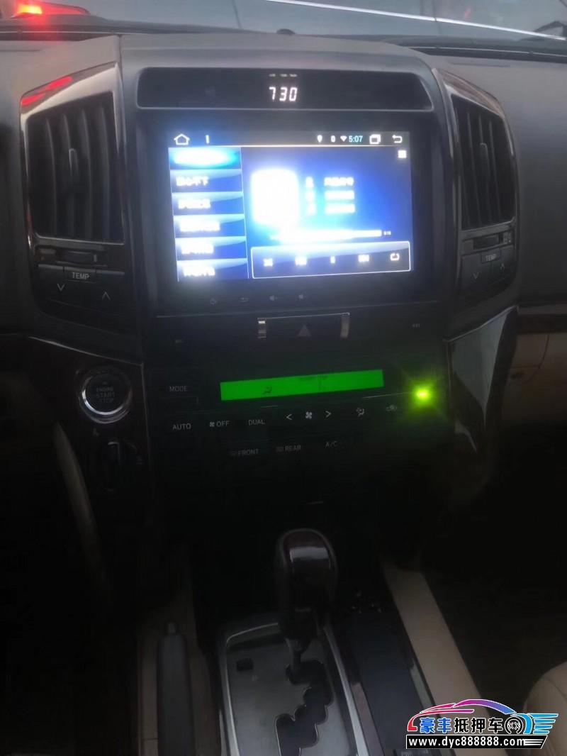 18年丰田兰德酷路泽SUV抵押车出售