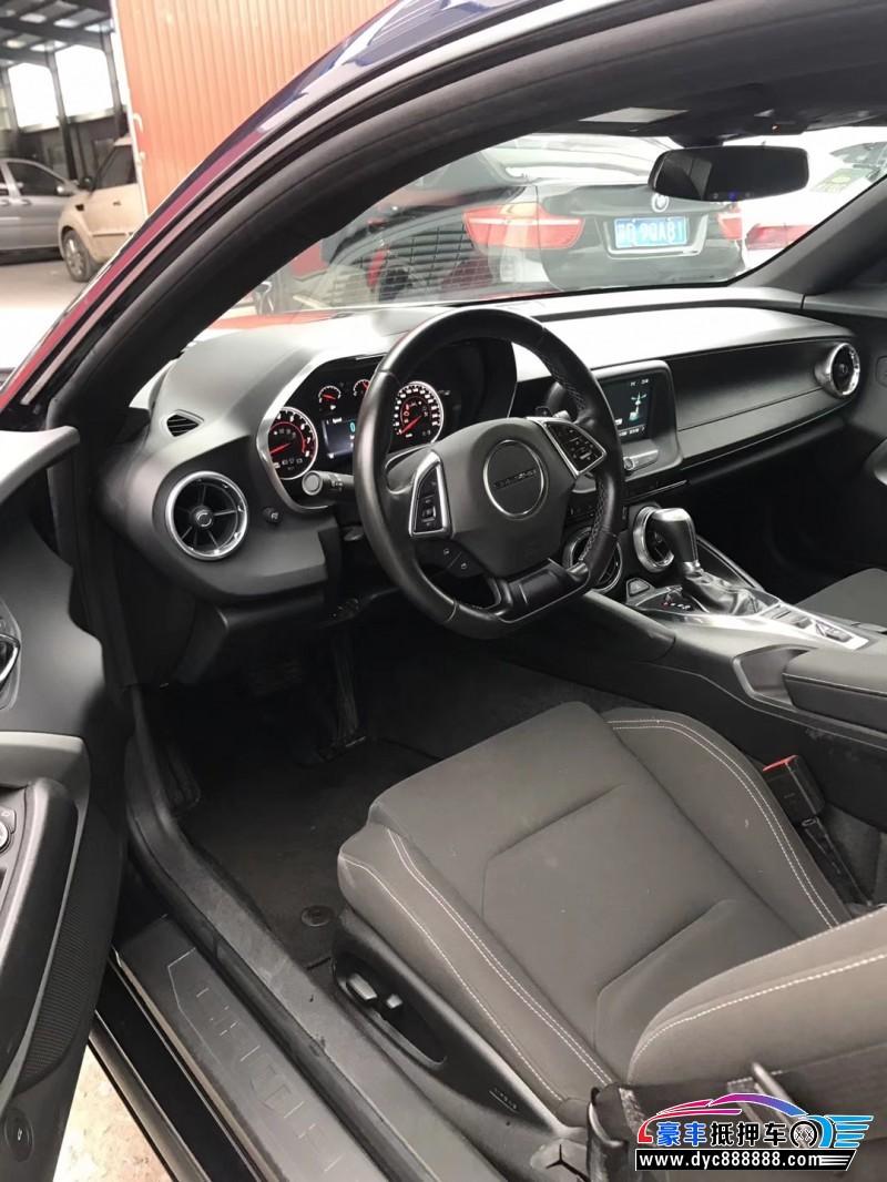 16年雪佛兰科迈罗轿车抵押车出售
