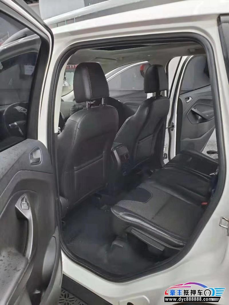 13年福特翼虎SUV抵押车出售