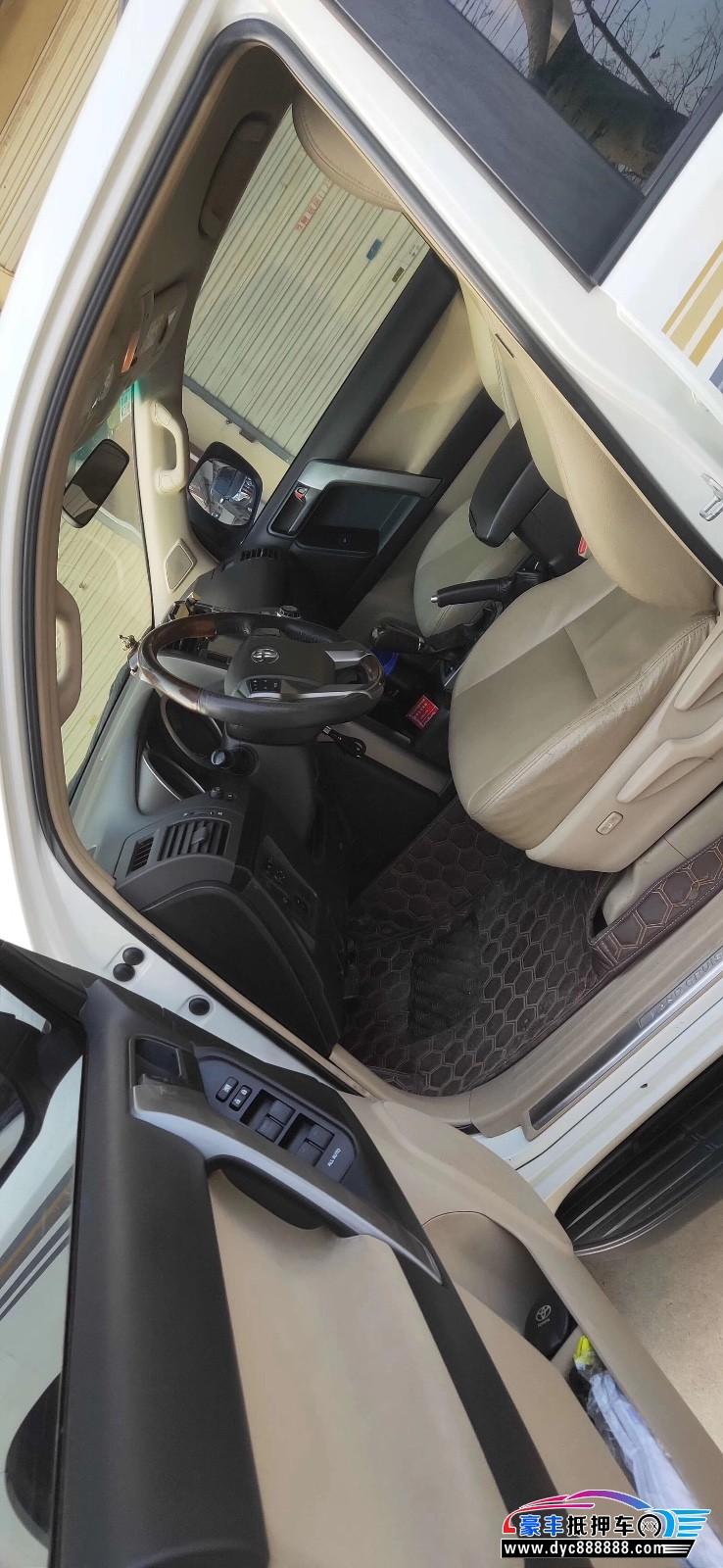 14年丰田普拉多SUV抵押车出售