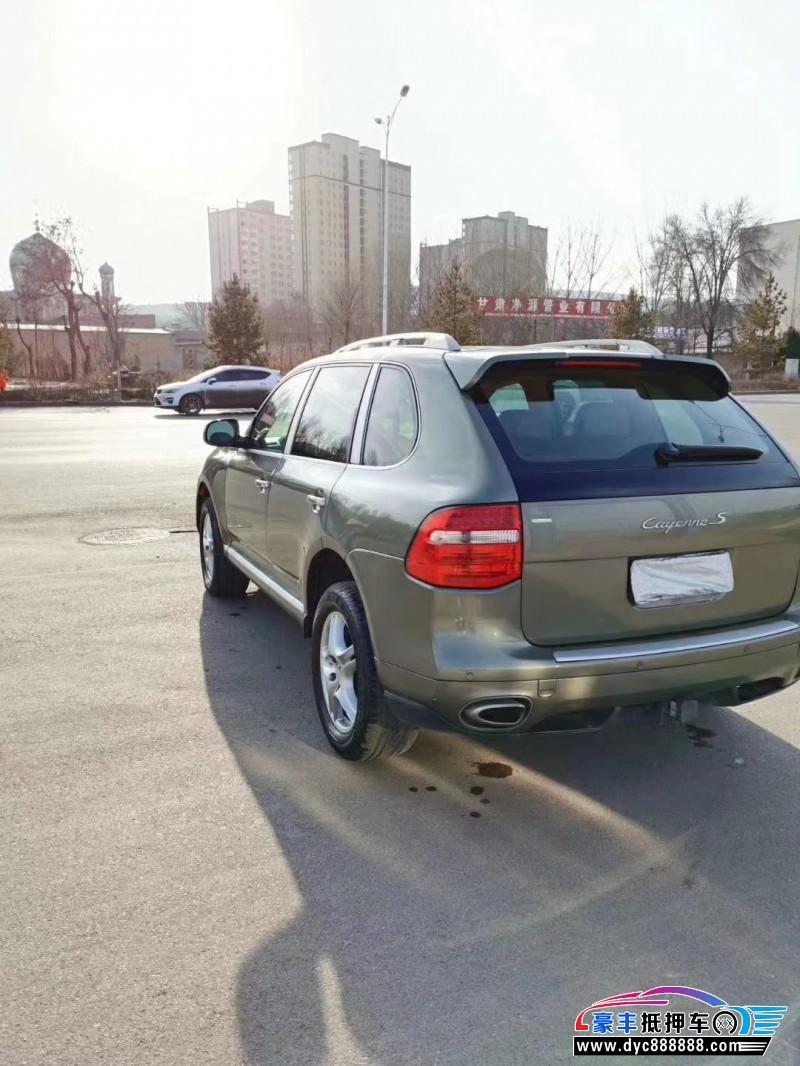 09年保时捷卡宴SUV抵押车出售