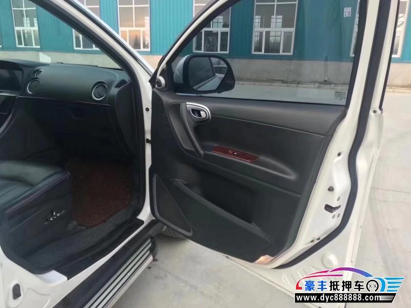 16年纳智捷大7 SUVSUV抵押车出售