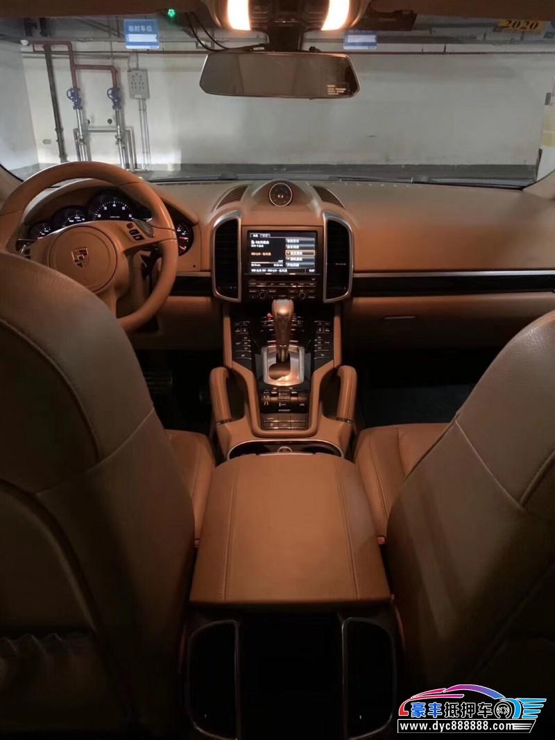 13年保时捷卡曼SUV抵押车出售
