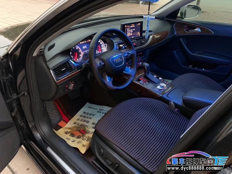 抵押车出售13年奥迪A6L轿车