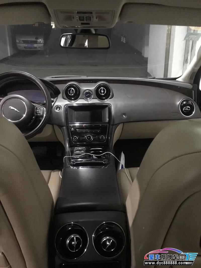 抵押车出售16年捷豹XJ轿车