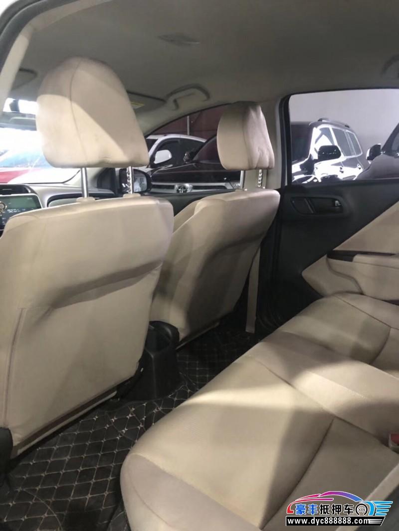 17年本田锋范轿车抵押车出售