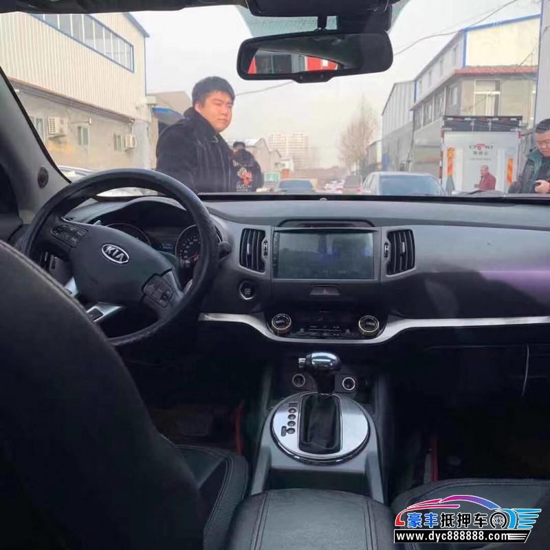 抵押车出售14年起亚智跑SUV