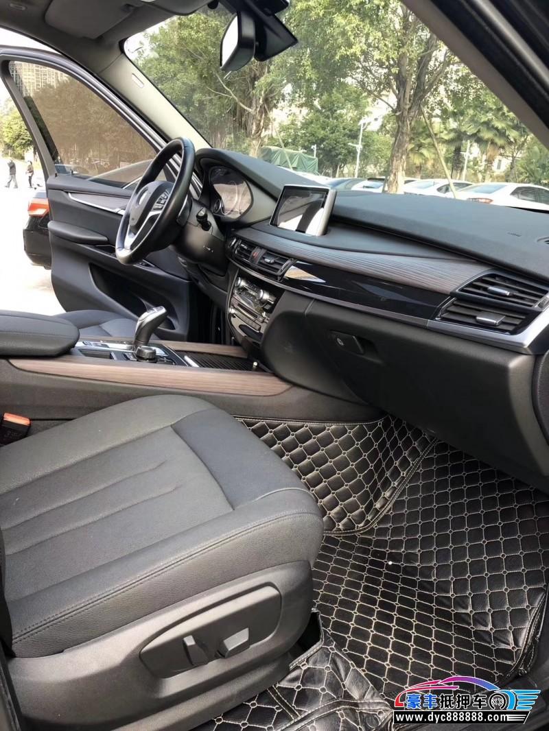 抵押车出售17年宝马X5SUV
