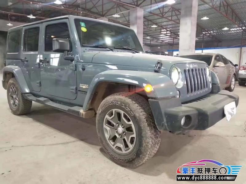 15年Jeep牧马人SUV抵押车出售