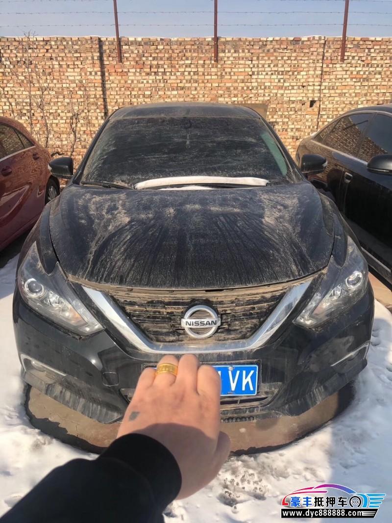 18年日产天籁轿车抵押车出售