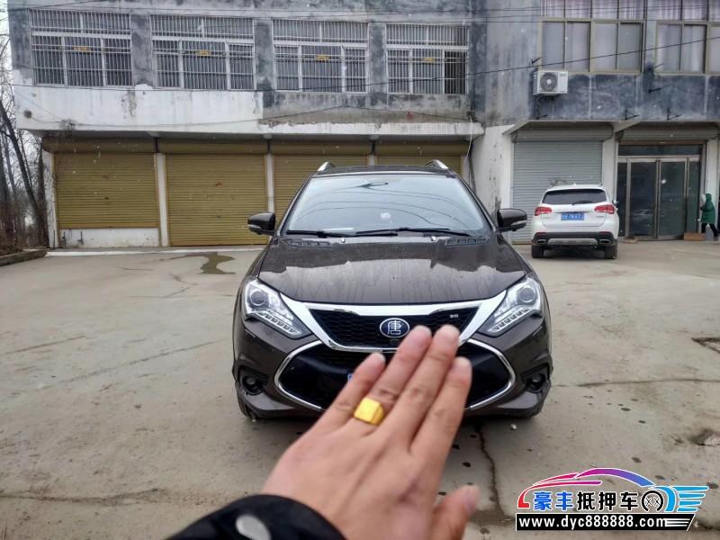 17年比亚迪唐SUV抵押车出售