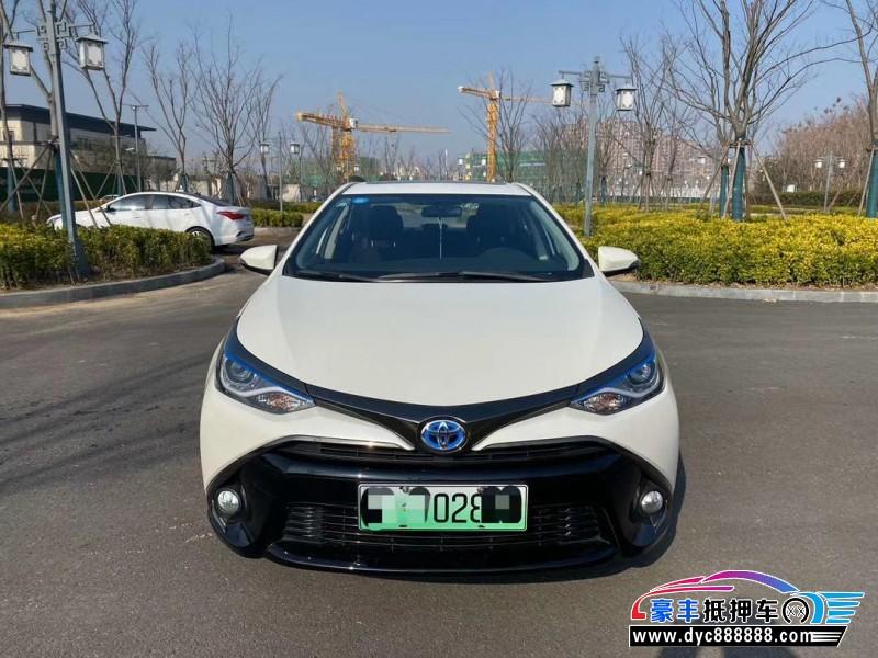 19年丰田雷凌SUV抵押车出售