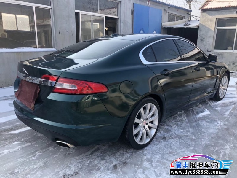 09年捷豹XF轿车抵押车出售