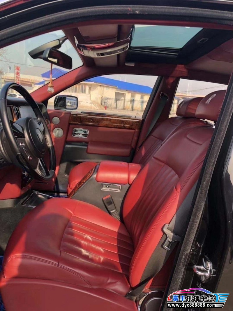 08年劳斯莱斯幻影轿车抵押车出售