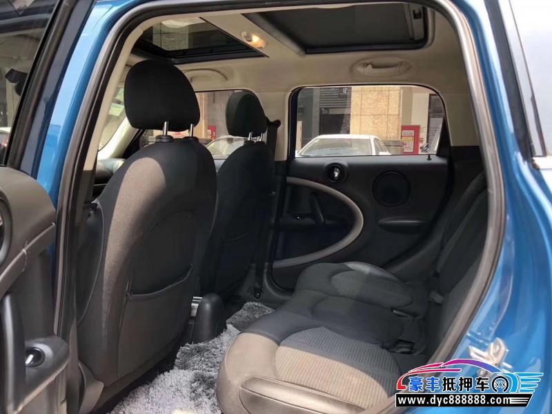 12年宝马MINI轿车抵押车出售