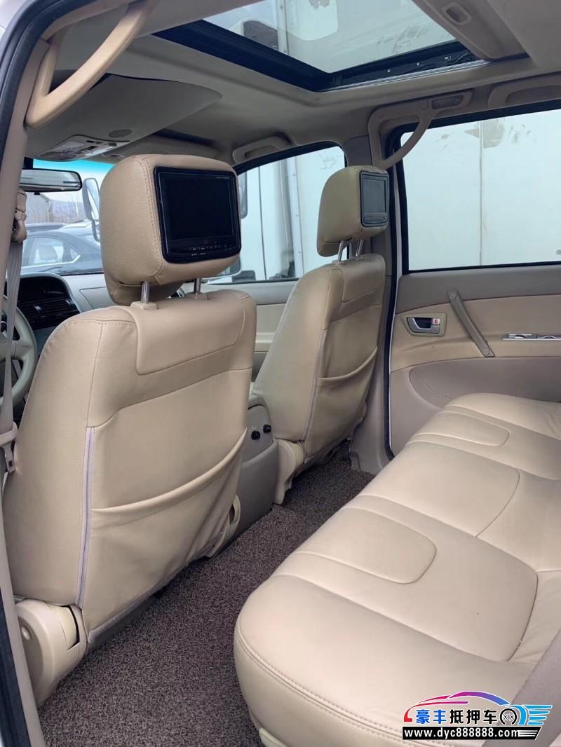09年猎豹汽车CS6SUV抵押车出售