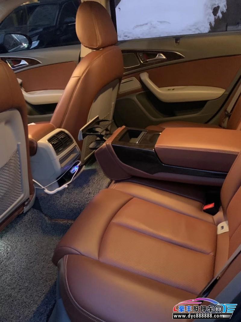 14年奥迪A6L轿车抵押车出售