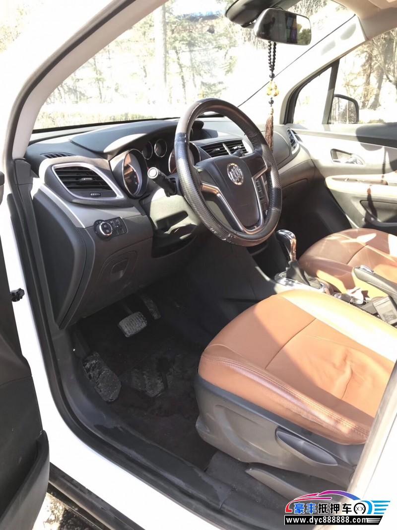 抵押车出售13年别克昂科拉SUV