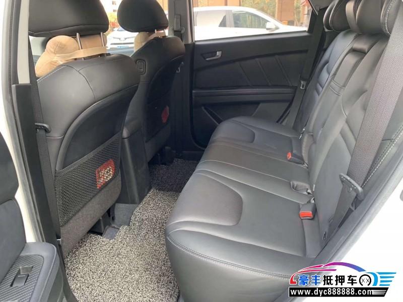 抵押车出售18年纳智捷优6 SUVSUV