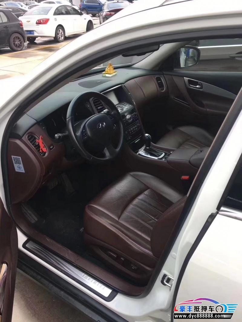 抵押车出售15年英菲尼迪QX50SUV