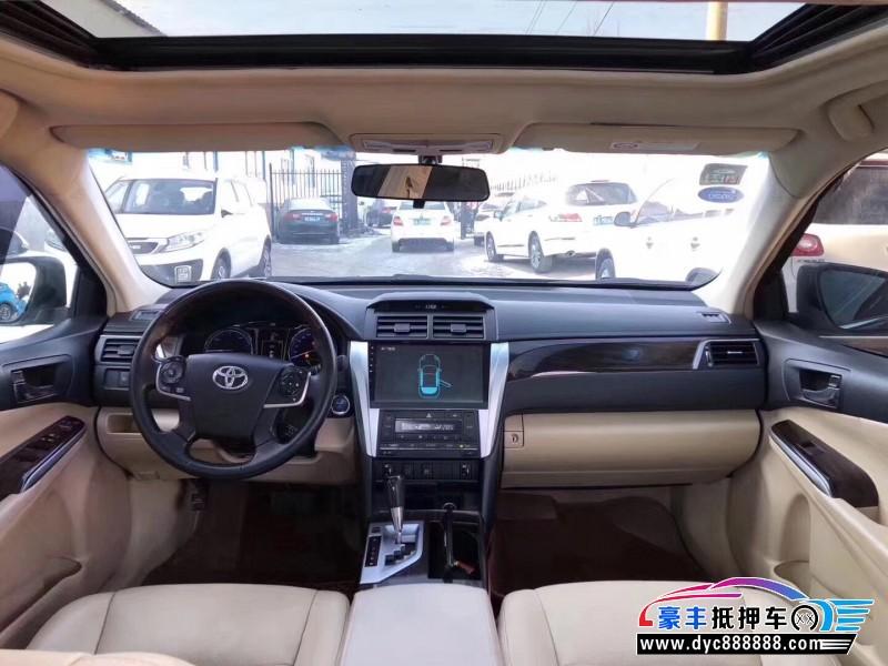 15年丰田凯美瑞轿车抵押车出售