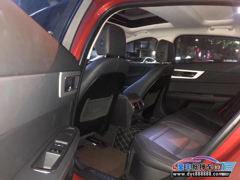 19年捷豹XE轿车抵押车出售