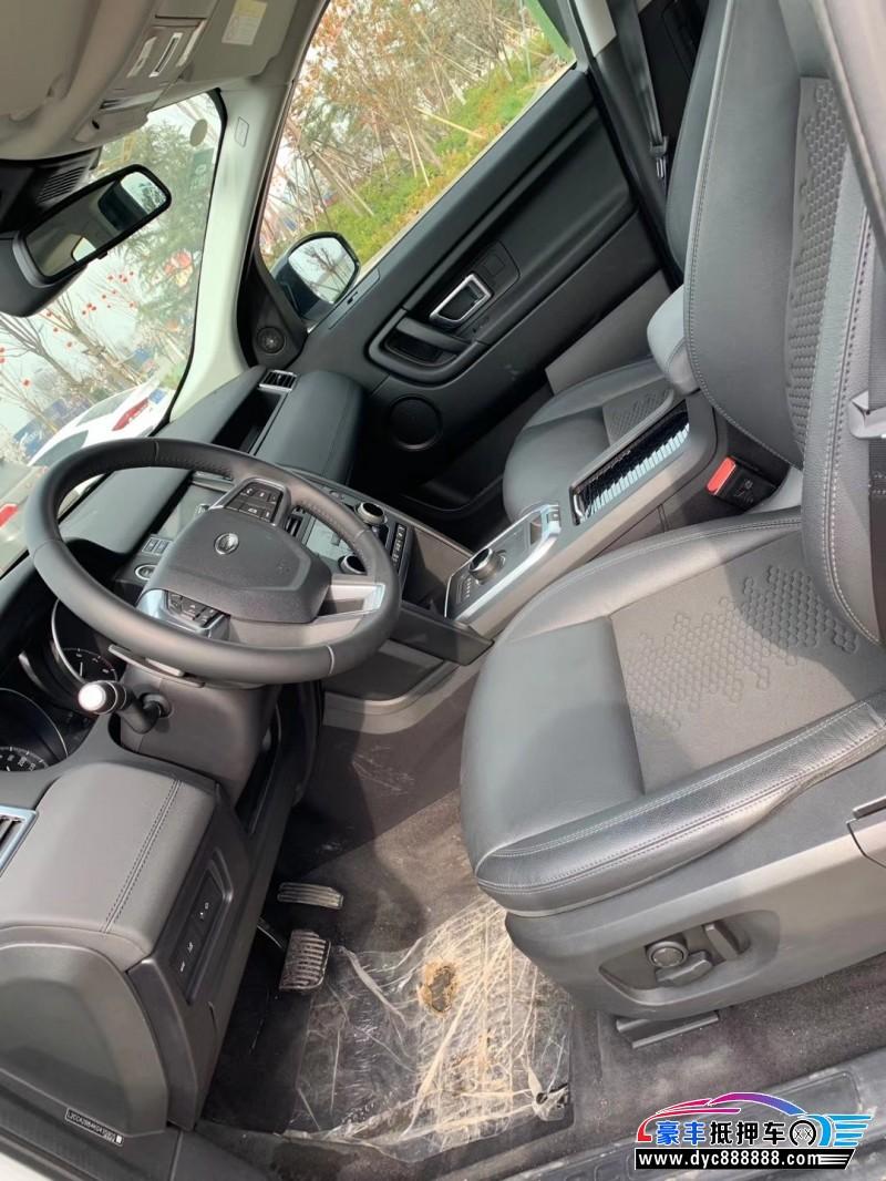 19年路虎神行者2SUV抵押车出售