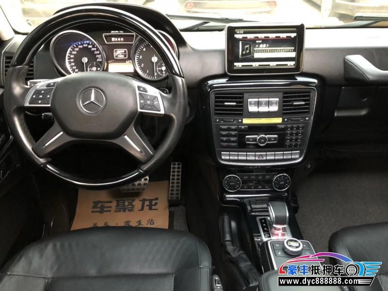 抵押车出售14年奔驰G级SUV