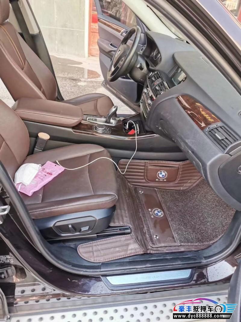抵押车出售16年宝马X3SUV