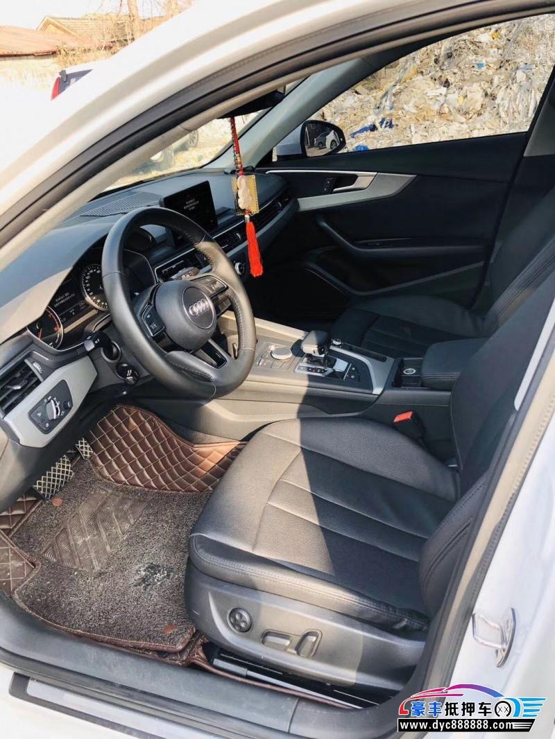 抵押车出售17年奥迪A4L轿车