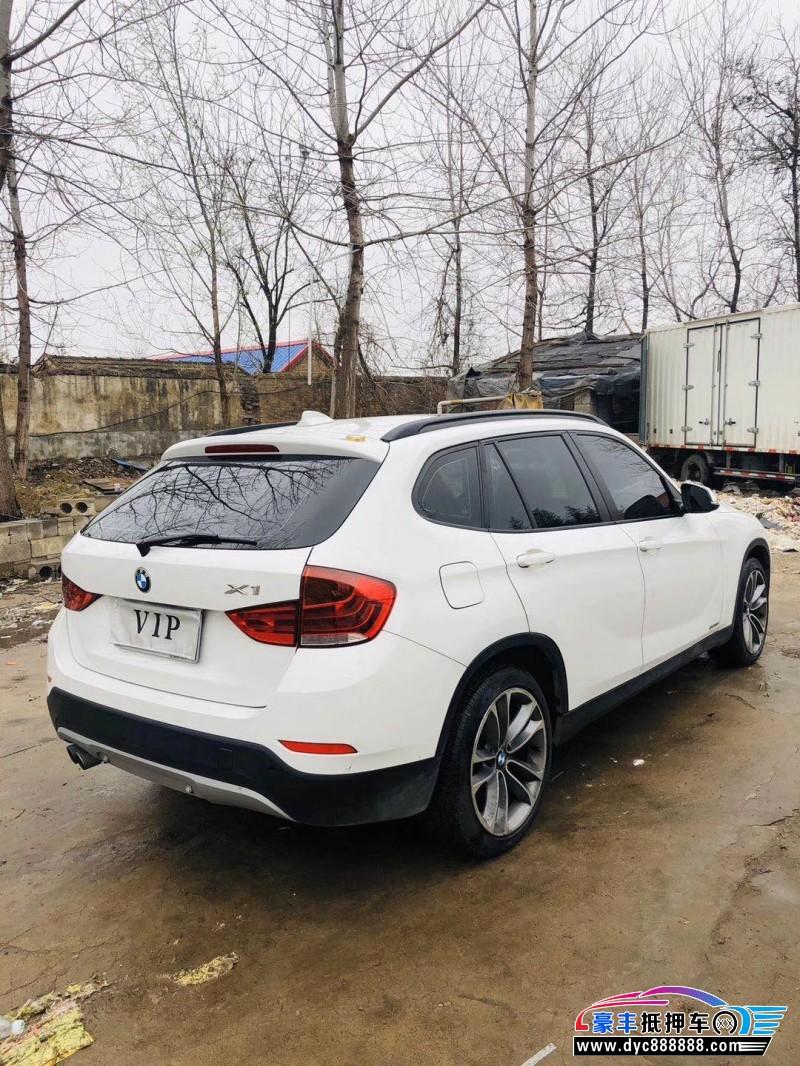 15年宝马X1SUV抵押车出售