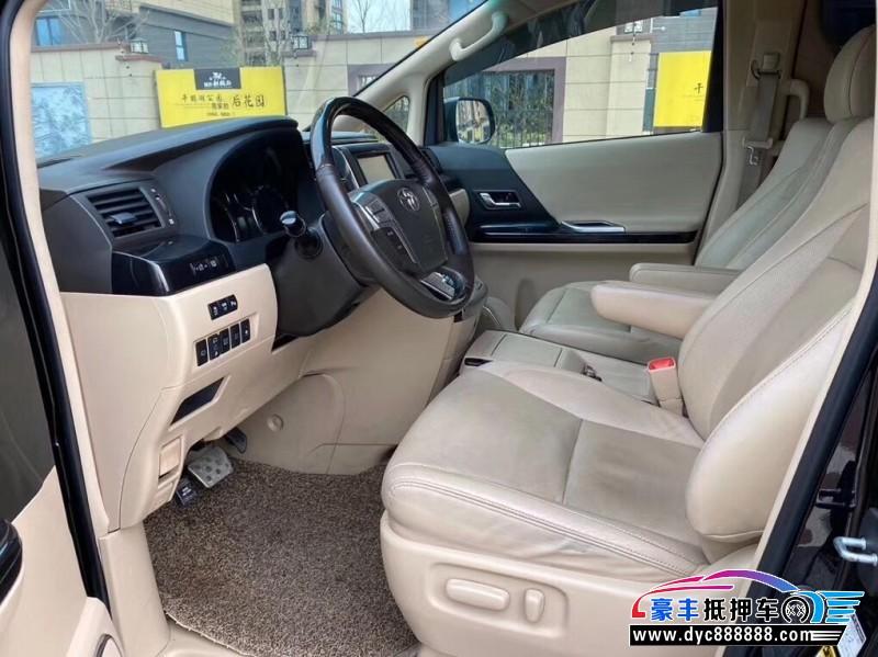 抵押车出售14年丰田埃尔法MPV