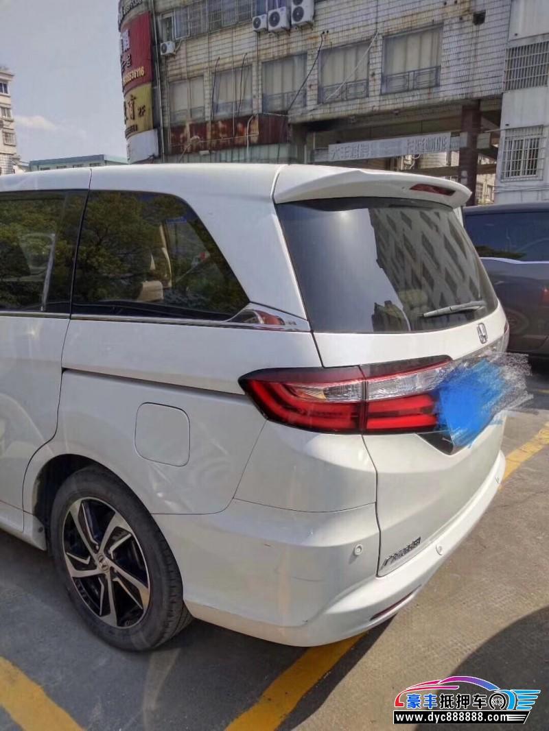 抵押车出售16年本田奥德赛MPV