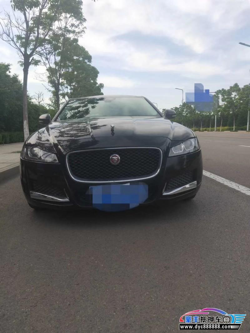 抵押车出售17年捷豹XF轿车