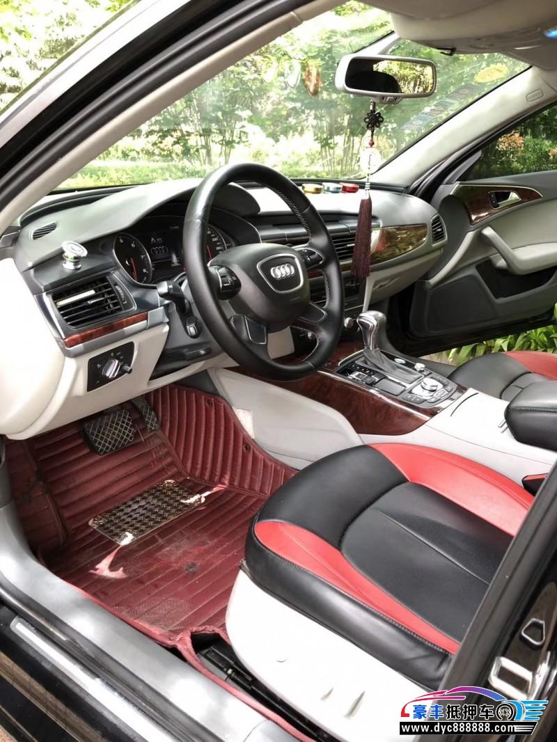 13年奥迪A6L轿车抵押车出售