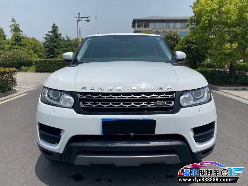 抵押车出售17年路虎揽胜运动SUV