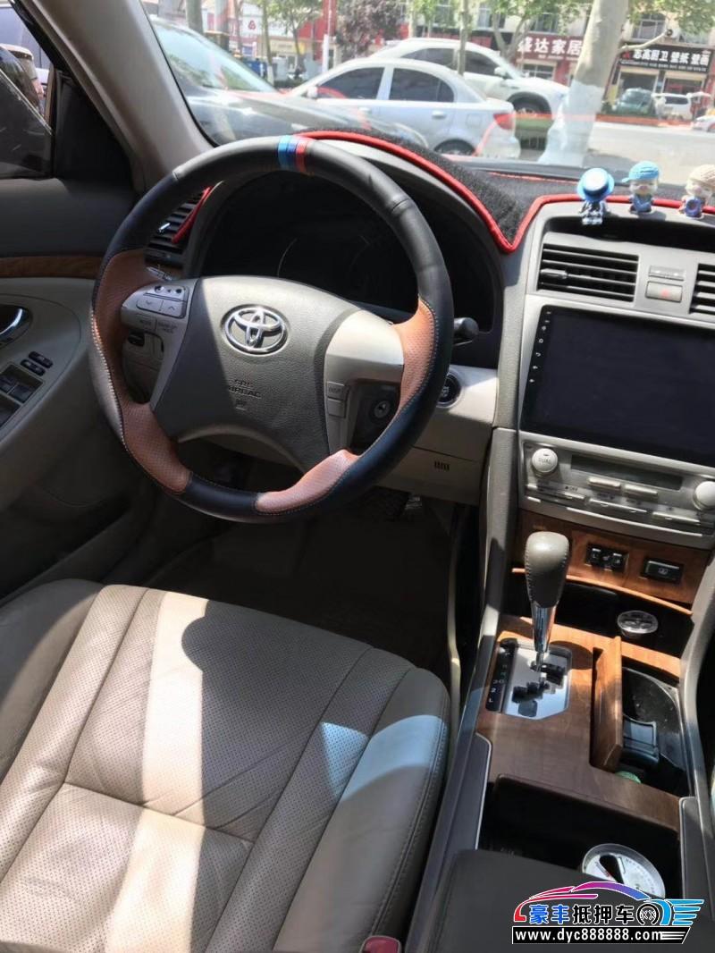 13年丰田凯美瑞轿车抵押车出售