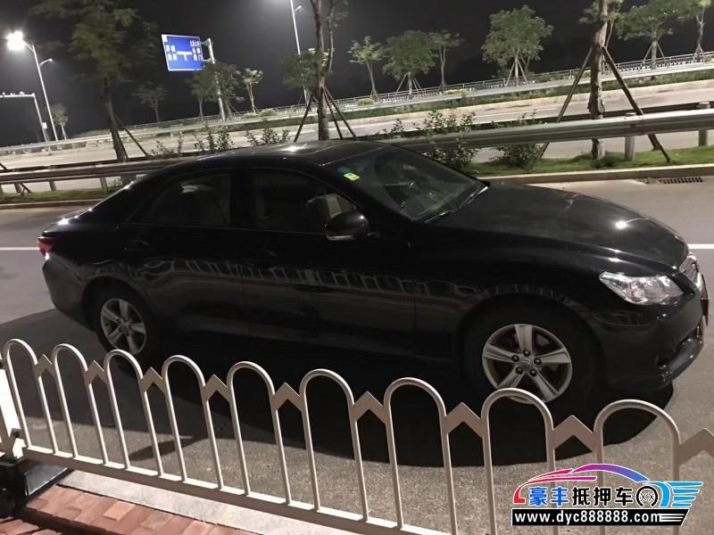 12年丰田锐志轿车抵押车出售
