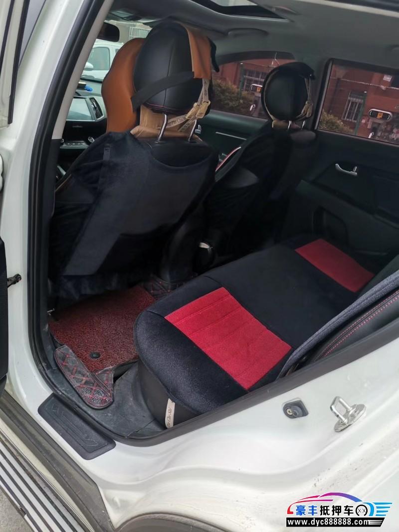 17年起亚智跑SUV抵押车出售