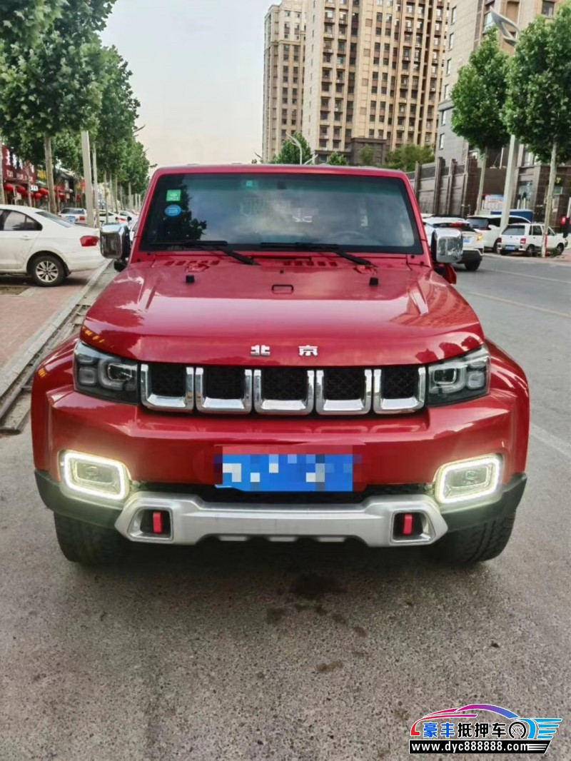 抵押车出售19年北京BJ40SUV