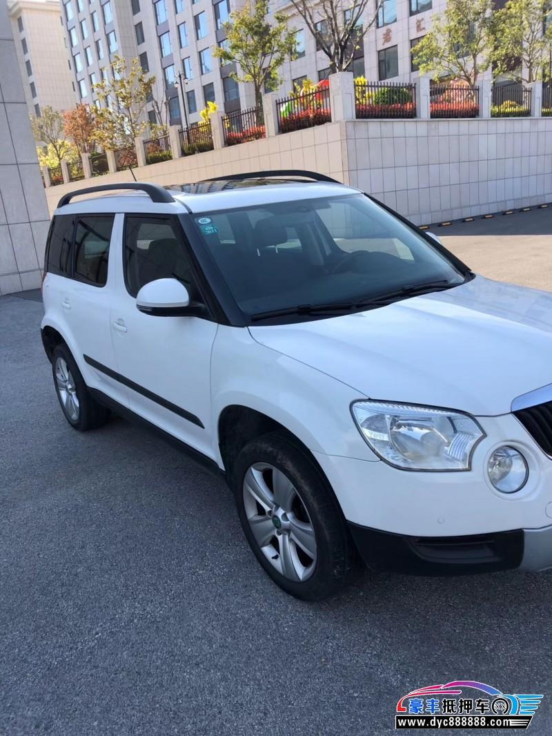 15年斯柯达YetiSUV抵押车出售