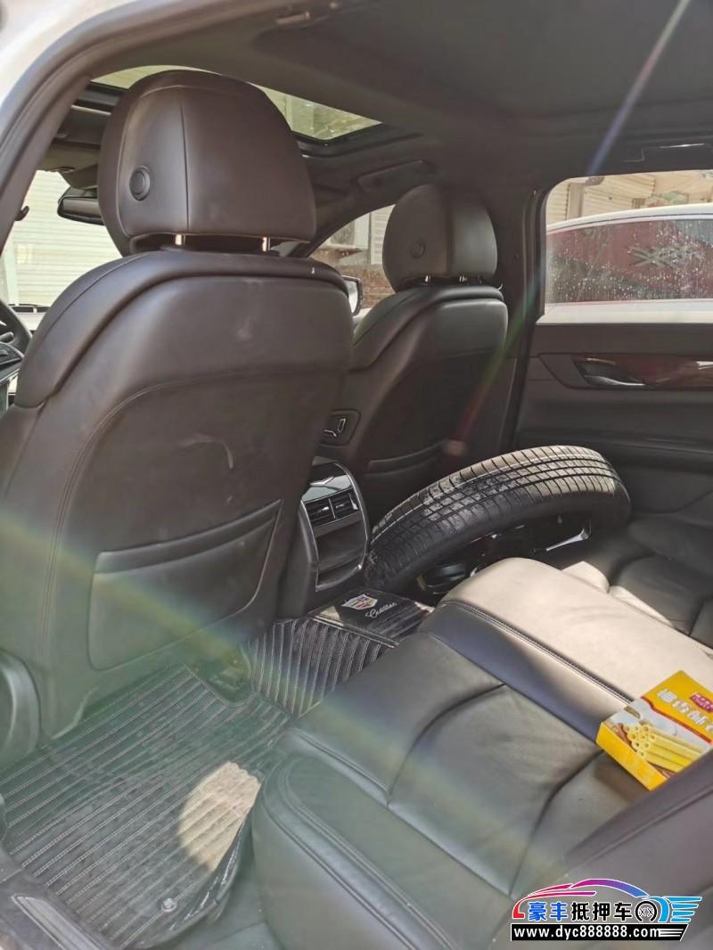 抵押车出售17年凯迪拉克CT6轿车