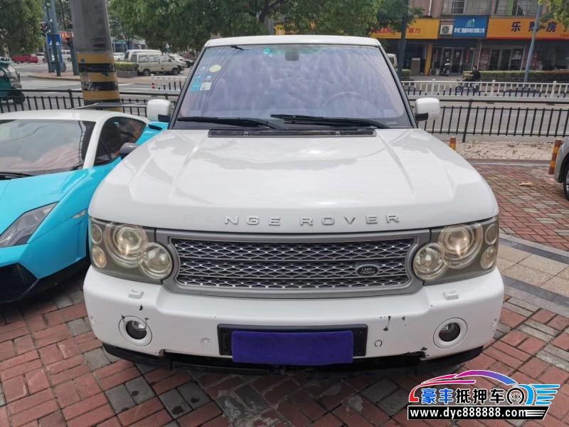 08年路虎揽胜行政SUV抵押车出售
