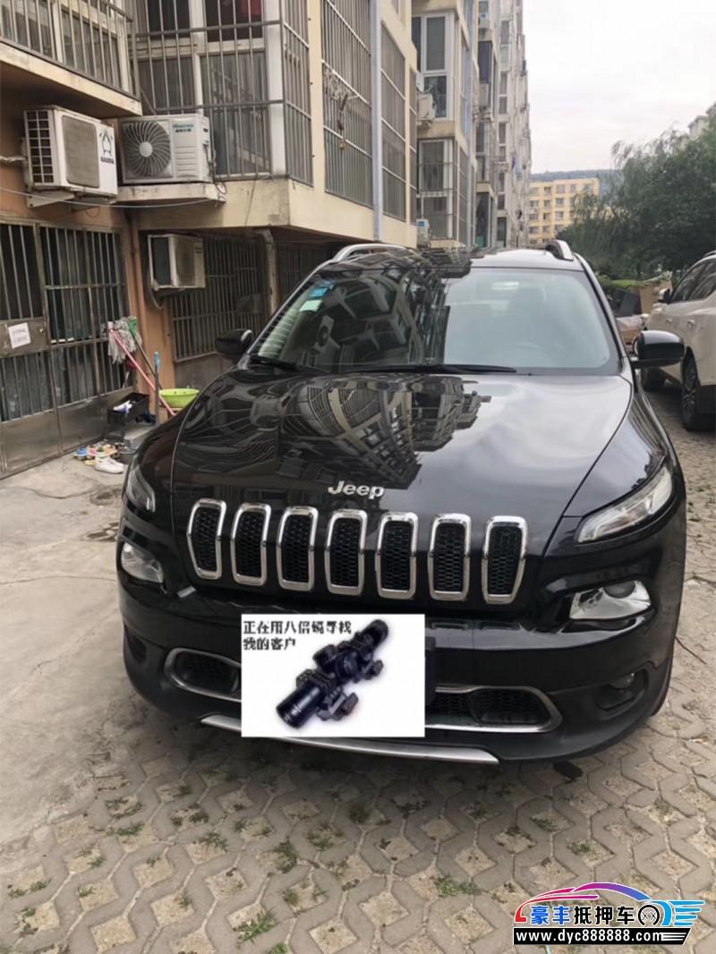 抵押车出售16年Jeep自由光SUV