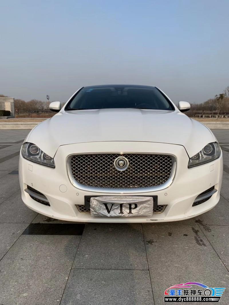 抵押车出售12年捷豹XJ轿车