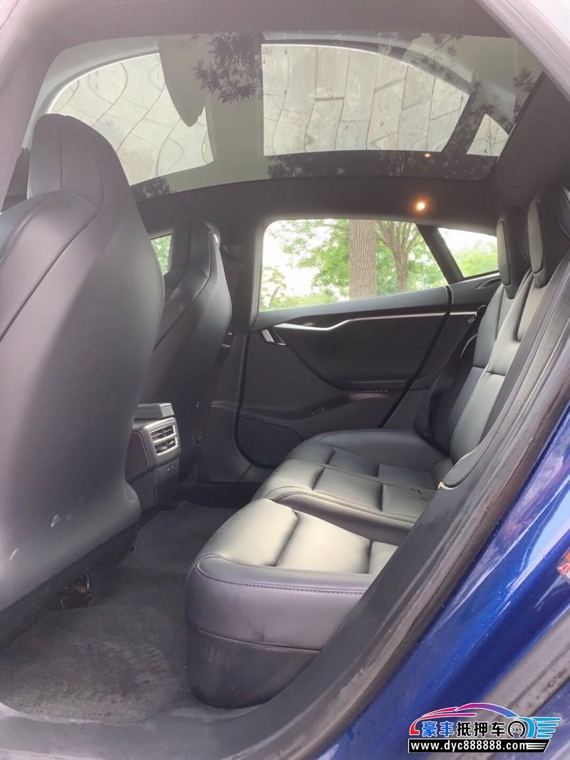 18年特斯拉MODEL S轿车抵押车出售