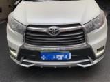 抵押车出售18年丰田汉兰达SUV