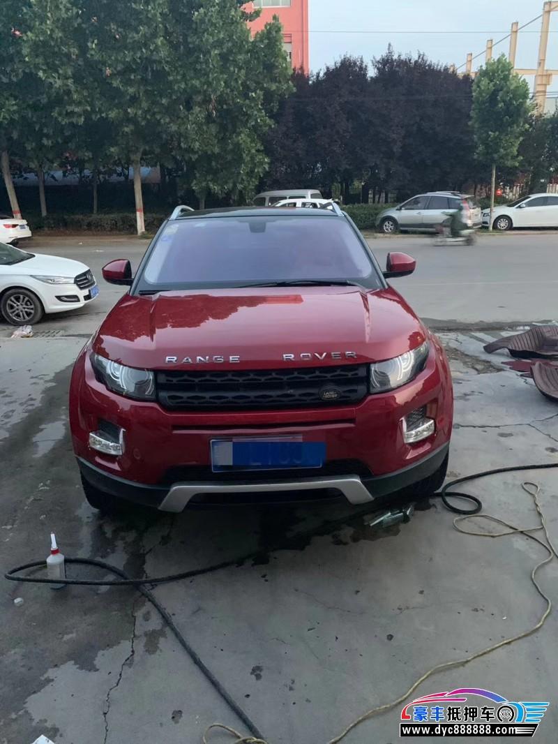 抵押车出售14年路虎揽胜极光SUV