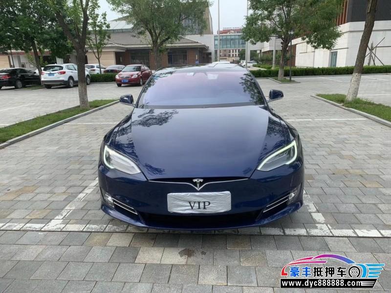 抵押车出售18年特斯拉特斯拉Model S轿车